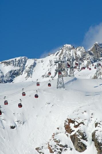 Heute das größte Gletscherskigebiet Österreichs, waren die Anfänge in den Siebzigern noch bescheidener. Foto: Stubaier Gletscher