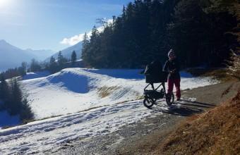 Unterwegs mit Baby – im Winter