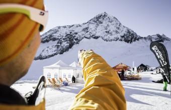 SportScheck Gletscher Testival