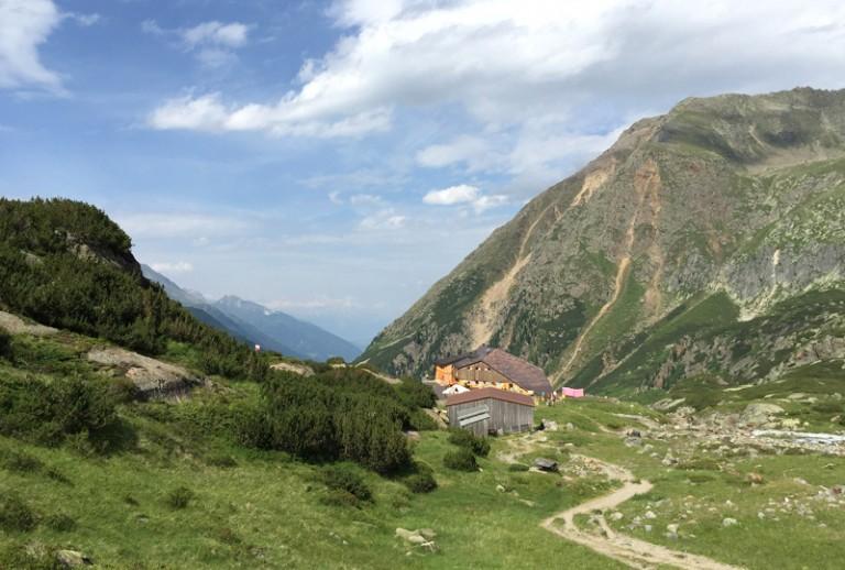 16 Sulzenauhütte Stubaier Höhenweg