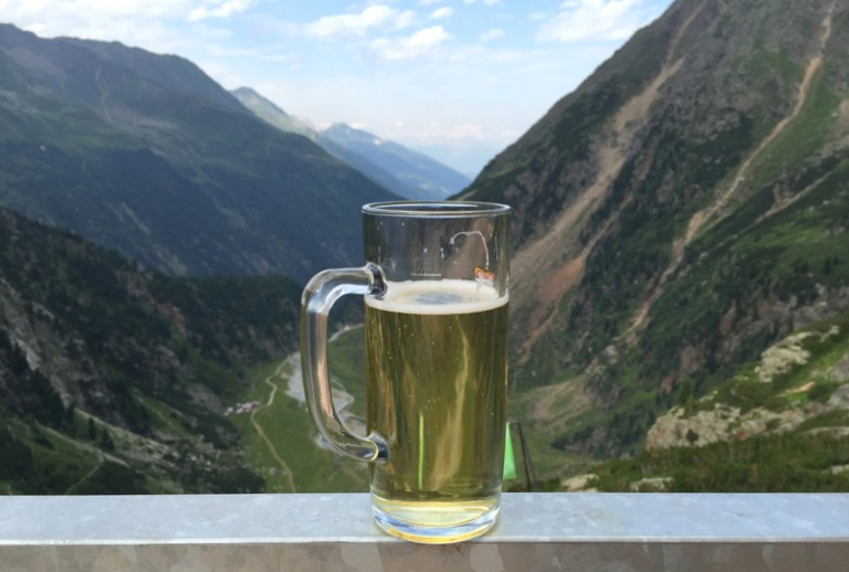 17 Blick ins Tal Rast Sulzenauhütte
