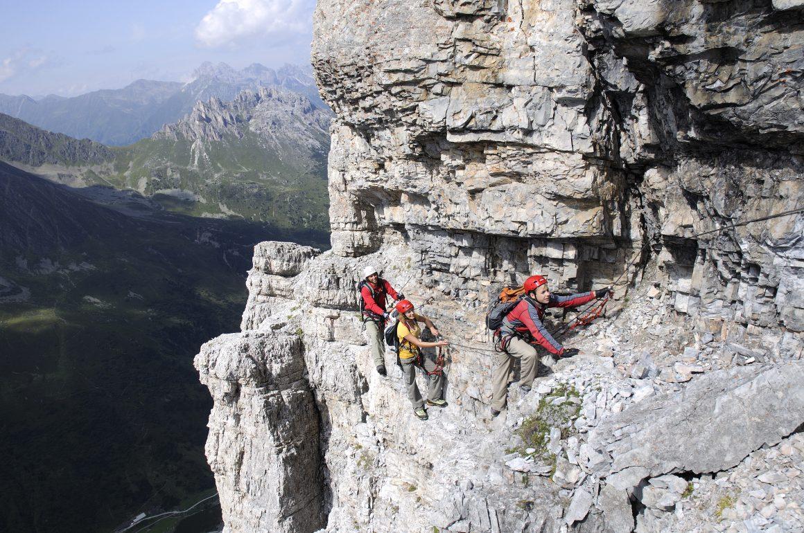 Klettern auf der Ilmspitze