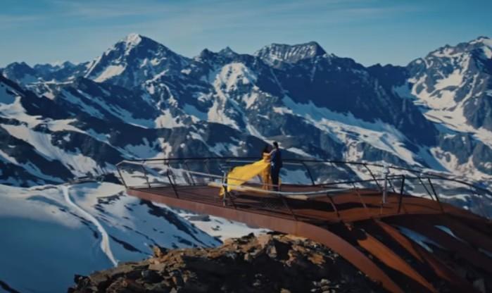 Songaufnahme auf 3.210 m
