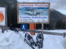 Start des Schneeschuh-Wanderweges