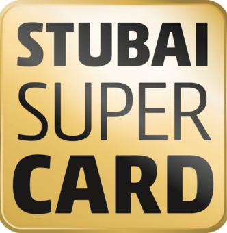 Enjoy the advantages of Stubai Super Card!