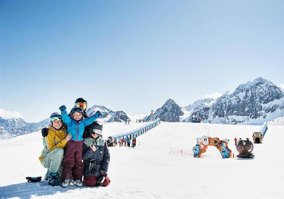 BIG Family Stubai Ski Camp Stubaier Gletscher
