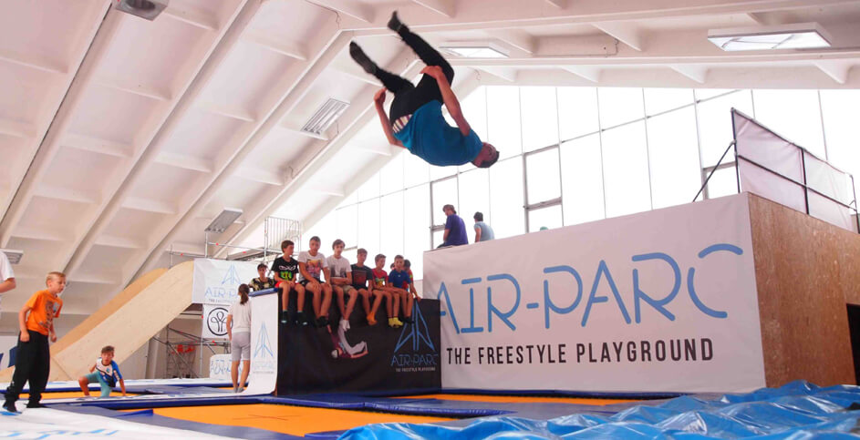 Freestyle im Airparc StuBay