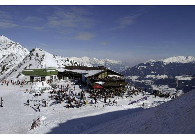 Panoramarestaurant Kreuzjoch Winter