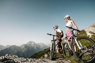 Stubai Mountainbiken Rast